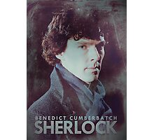 BBC Sherlock Poster & Prints (Benedict Cumberbatch) Photographic Print