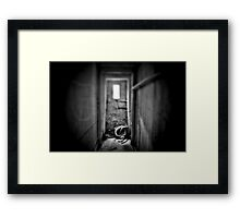 """Ruins of a """"not so old"""" house Framed Print"""