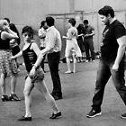 Synchronized Walking by Andrew  Makowiecki