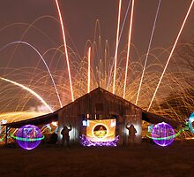 Light Painting in the New Year by Paul Sweany