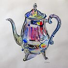 Teapot  by Karin Zeller