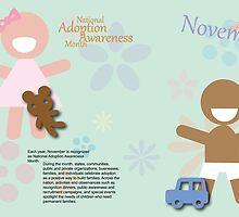 November - National Adoption Awareness Month by KRPace