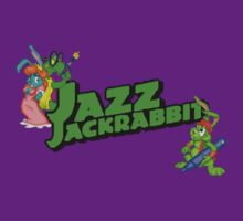 Jazz Jackrabbit Pixel Style- Retro DOS game fan shirt by hangman3d