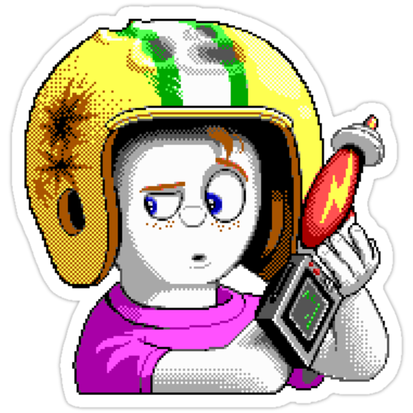 Commander Keen HD - Retro DOS game fan shirt by hangman3d
