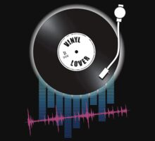 Vinyl Lover by Mark McClare Designs