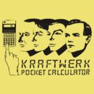 Kraftwerk Pocket Calculator by Bradley John Holland