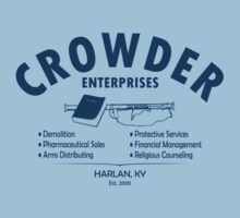Crowder Enterprises (Navy) by pixhunter