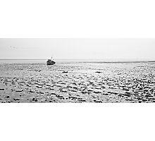 Low Tide 02 - Lytham St Annes, Lancs, UK Photographic Print