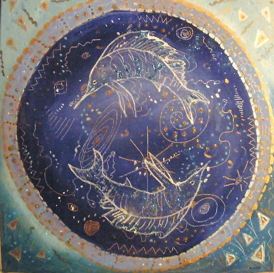 Sailfish Constellation by Kay Hale