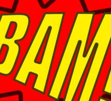 BAM! T-Shirt Design. Sticker