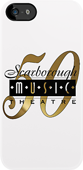 Scarborough Music Theatre 50th Anniversary products (black/gold logo) by marinasinger