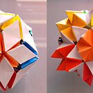 kusudama pop up by Edel Montón Caño