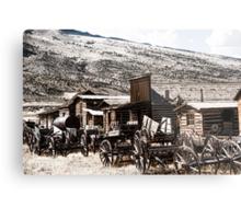 Old West Town Metal Print