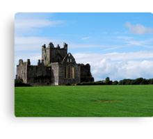 Dunbrody Abbey Canvas Print
