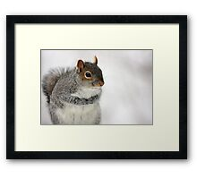 Cold Hands Framed Print