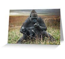 Joys of motherhood Greeting Card