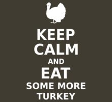 Keep Calm and Eat Some More Turkey by ottou812