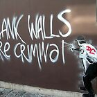 blank walls are criminal by Jo Morcom