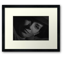 M-G-M Superstar . Evita KittyCat . . by Brown Sugar . Framed Print