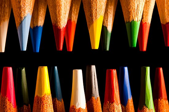 Painting Pencils by Marc Garrido Clotet