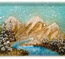 Winter in the Rockies by Pamela Hubbard