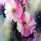 Hollyhock by Bev  Wells