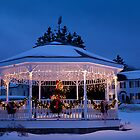 Christmas Bandstand by Kellypix