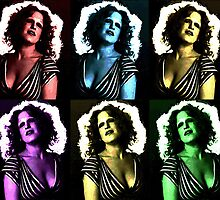 BETTE MIDLER (POP-ART) by OTIS PORRITT
