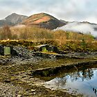 Boat Huts by Loch Leven by jacqi