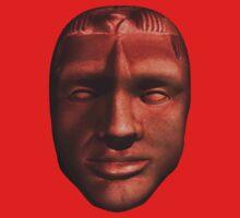 Mayan Reincarnation Mask - Lord Pakal Ahau Kids Clothes