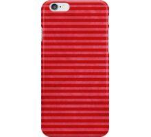 Red Pink striped case iPhone Case/Skin