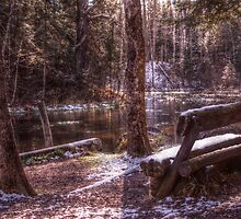 first snow along the brule by StoneAge