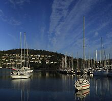 Bellerive Yacht Club Panorama by Noel Elliot