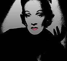 Marlene Dietrich © by Dawn M. Becker