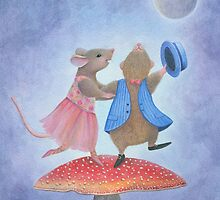 Dancing the Night Away by Karen  Hull