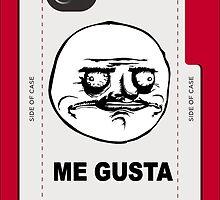 Me Gusta face MEME by DamianL