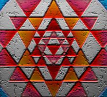 Sri Chakra Sticker