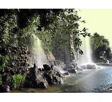 Waterfalls in Nice Photographic Print