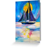 """""""I am the Master of my fate, I am the Captain of my Soul"""" Greeting Card"""