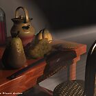my old chair in a old house by VirtualArtist