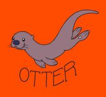 Cute River Otter Shirt Kids Clothes