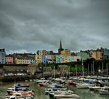 Tenby Harbour Pembrokeshire 6 by Steve Purnell