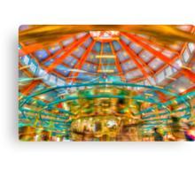 Carousel at Pullen park Canvas Print