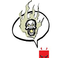 Say Burn! (Print) by NYTRClothing