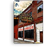 Bossier City Meets Lebanon, Missouri Canvas Print