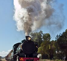 Steam Train by Russell Charters