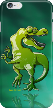 Dancing Tyrannosaurus Rex by Zoo-co