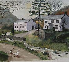 """All Gathered In"" - Farm, Watendlath, Cumbria, English Lake District by Timothy Smith"