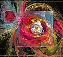 Spring floral by Fractal artist Sipo Liimatainen