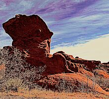 Jut Rock by Clarice Lakota
